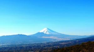 天城峠からの富士山