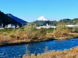修善寺駅付近富士